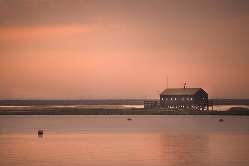 View from West Mersea in Essex