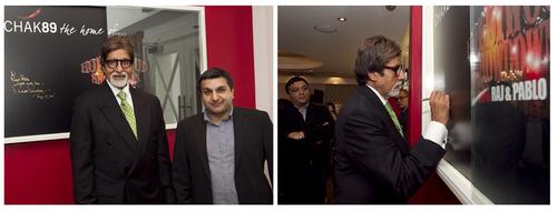 Amitabh Bachchan & Mr Khalid
