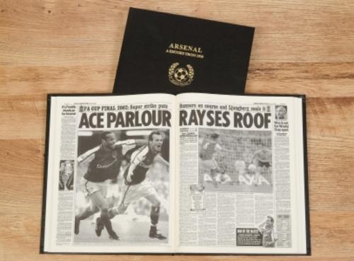 Personalised Football Club Books