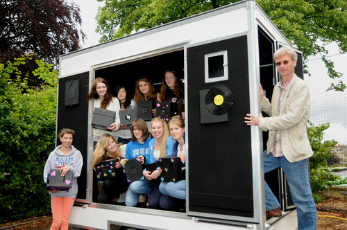 UK's first mobile pinhole camera