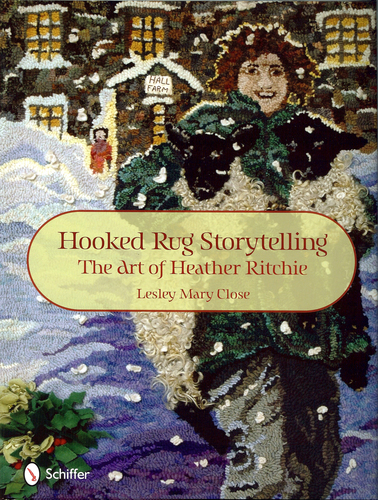 Hooked Rug Storytelling - book cover