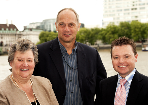 ESG CEO with local MP and Steve Redgrave