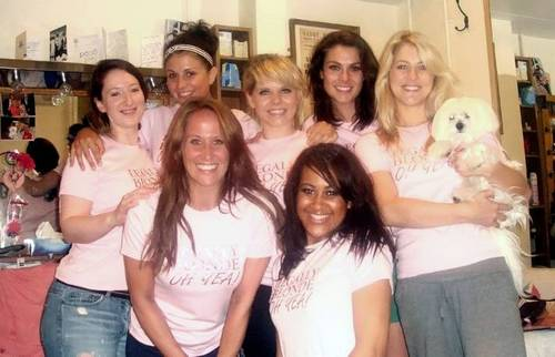 Legally Blonde cast Race for Life in UP!