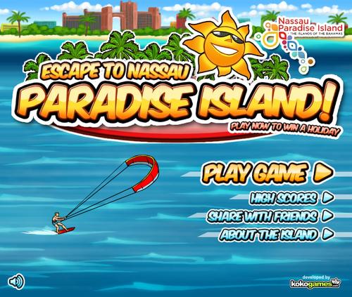 Paradise Island Menu