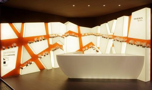 Award-winning stand design by Mahmoudieh