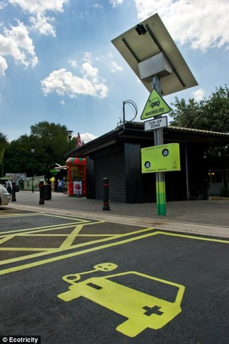 Duttons design Ecotricity chargepoints