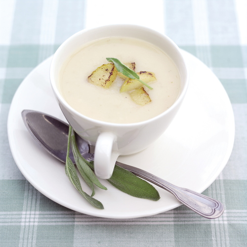 Parsnip and Apple Soup from Loseley