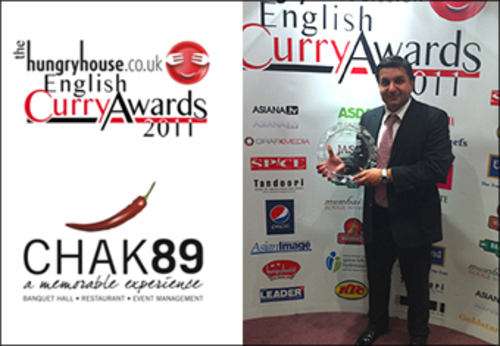 Mr Frank Khalid English Curry Awards