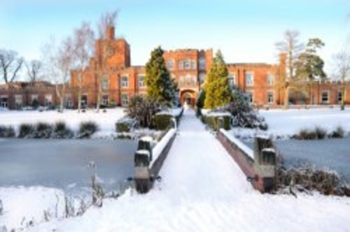 Ragdale Hall in the winter