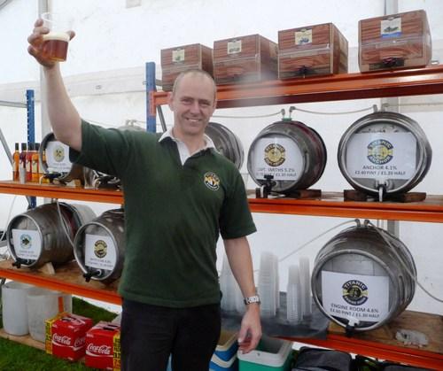 Titanic Brewery's Dave Bott