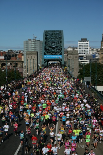 iomart takes Great North Run into cloud