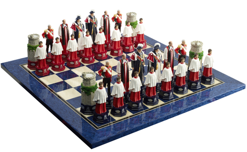 SAC Diamond Jubilee Chess Set