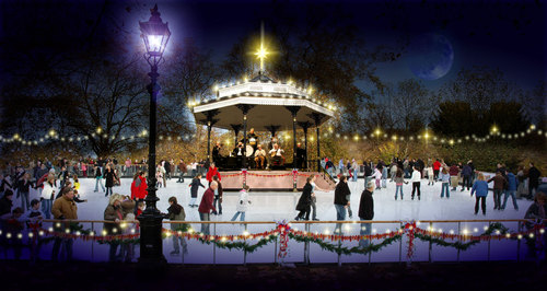 Artist's impression of new Ice Rink