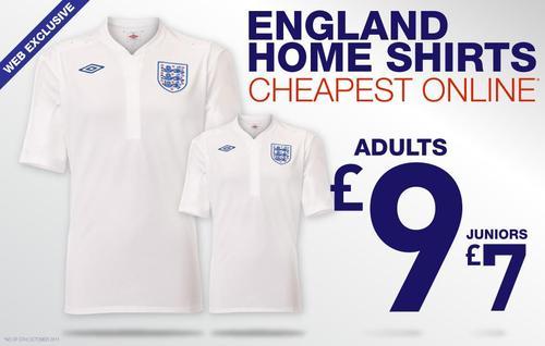 Cheapest England Shirt Online!