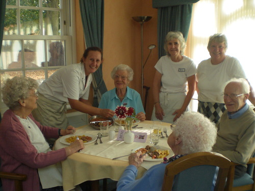 Residents enjoy Award Winning breakfast