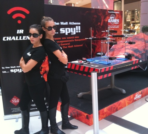 Spy Games at The Mall, Athens