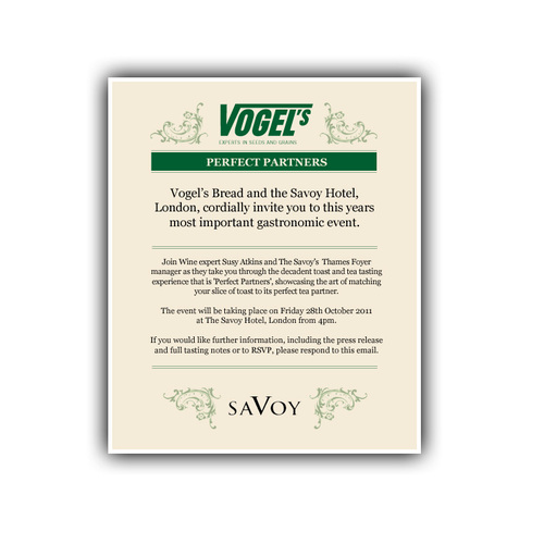 Invitation from Vogel
