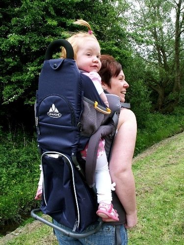 Child Back Carrier from Little Terra