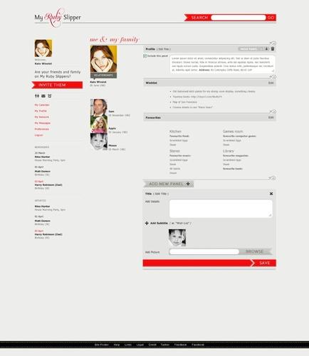 A myrubyslipper.com profile