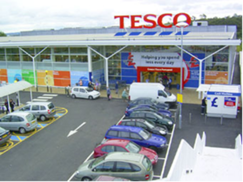 New fast drying screed for Tesco