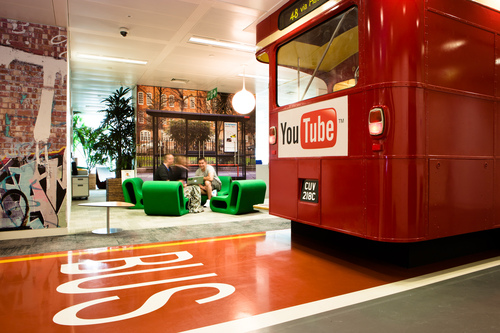 London RouteMaster as a meeting place