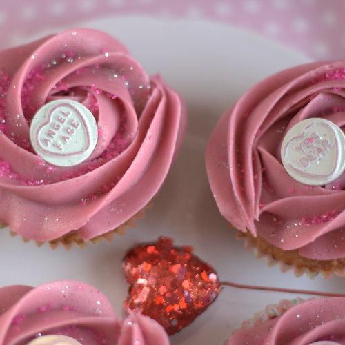 Loseley Valentine Cupcakes