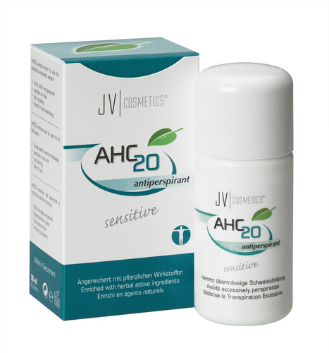 AHC sensitive against excessive sweating