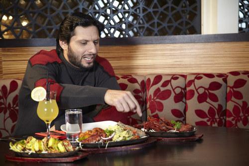 Shahid Afridi at Chak 89
