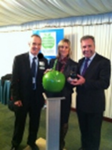 Collecting our Green Apple Gold Award