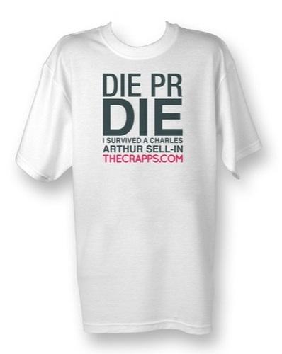 Die PR Die limited edition t-shirt
