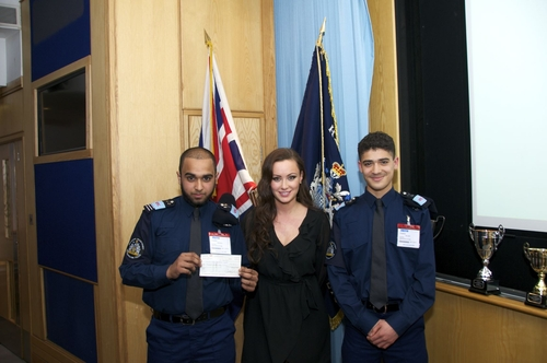 Camilla Al Fayed and Hackney Cadets
