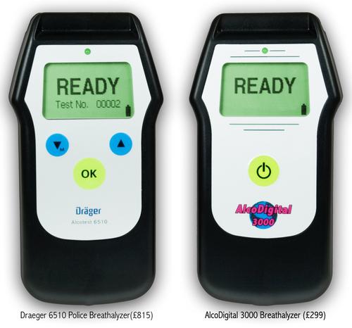 AlcoDigital 3000 & UK Police 6510