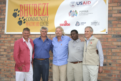 Virgin Unite launch the Bhubezi Clinic