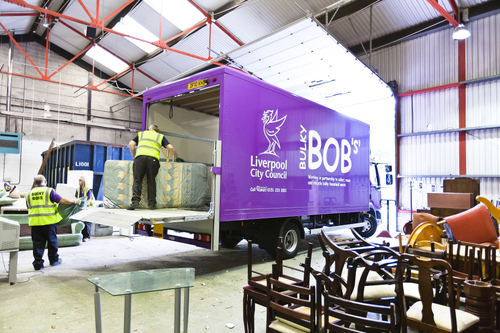 Bulky Bob's furniture logistics