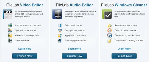 Filelab Web Apps