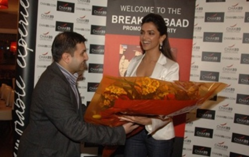Deepika Padukone visits Chak 89