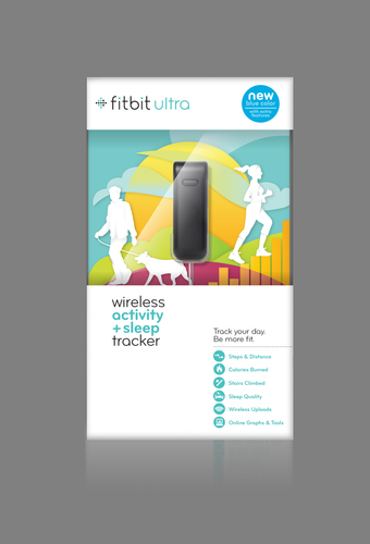 Retail Packaging for Fitbit Ultra Blue