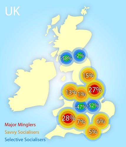 CitySocialising most sociable UK cities