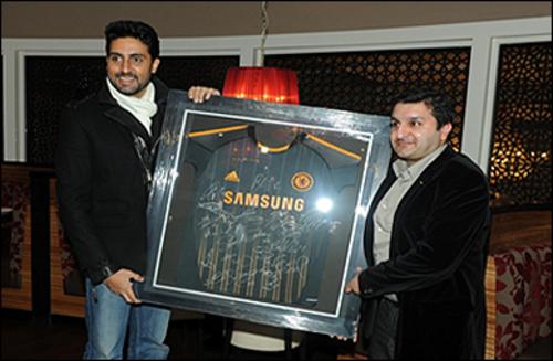 Abhishek Bachchan & Frank Khalid