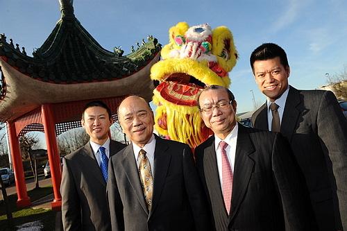 Mr Wing Yip Celebrates Chinese New Year