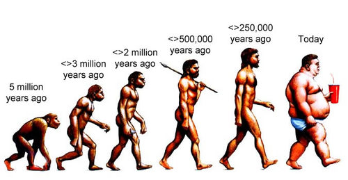 Are we evolving or devolving?