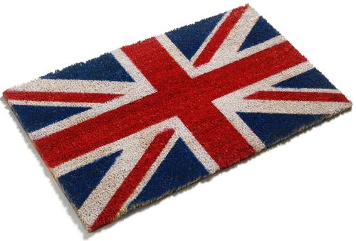 Union Jack Doormat