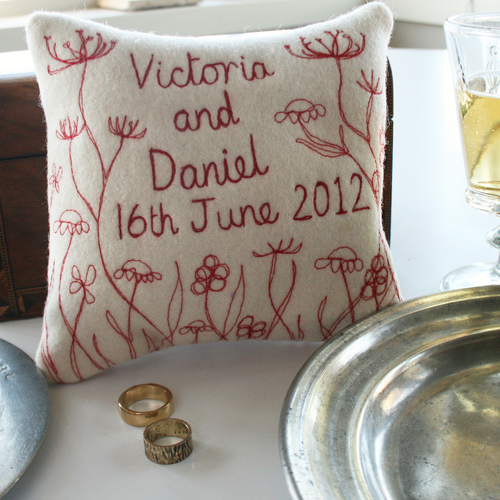 Snapddragon Ring Cushion from £22.50