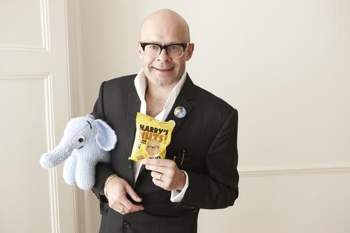 Harry Hill, elephant and Harry's Nuts!