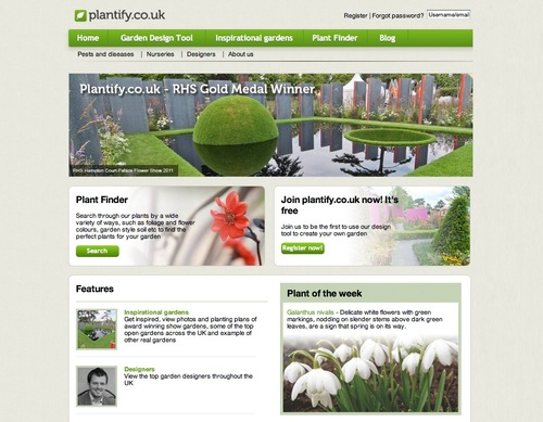 plantify.co.uk Home Page