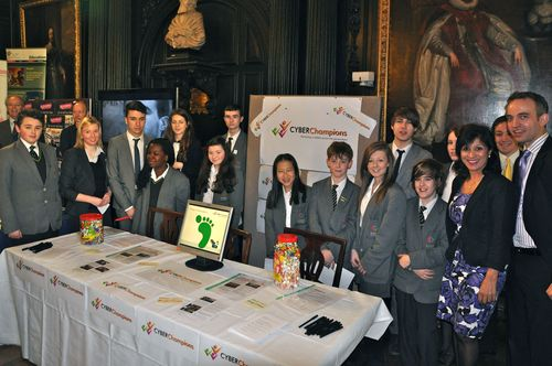 Pupils at Livery showcase