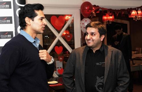 Dino Morea and Frank Khalid