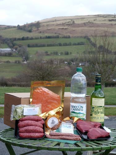 The True Taste of the Brecons hamper