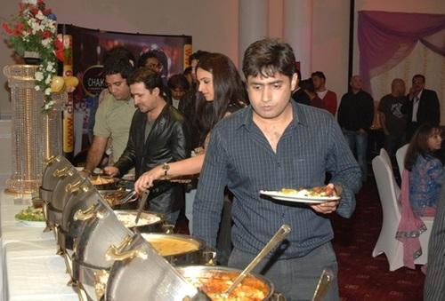 Abrar-ul-haq and delicious food Chak 89