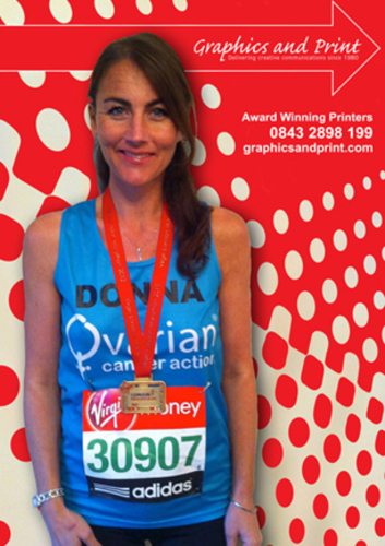 Donna Smith run the London Marathon